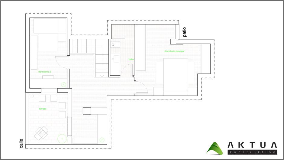Reforma de vivienda en segorbe castell n aktua - Feng shui casa nueva ...