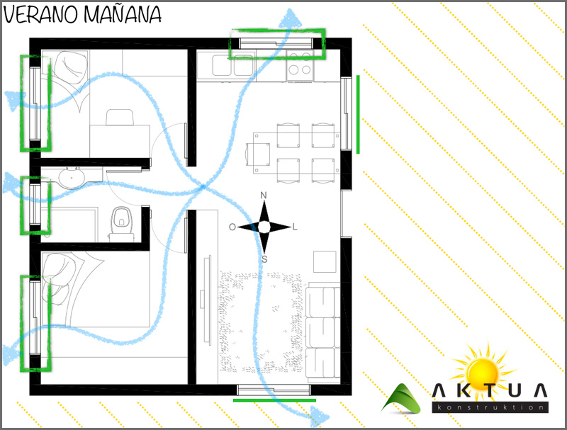Bioclimatic House Valencia: Cooler In The Summer