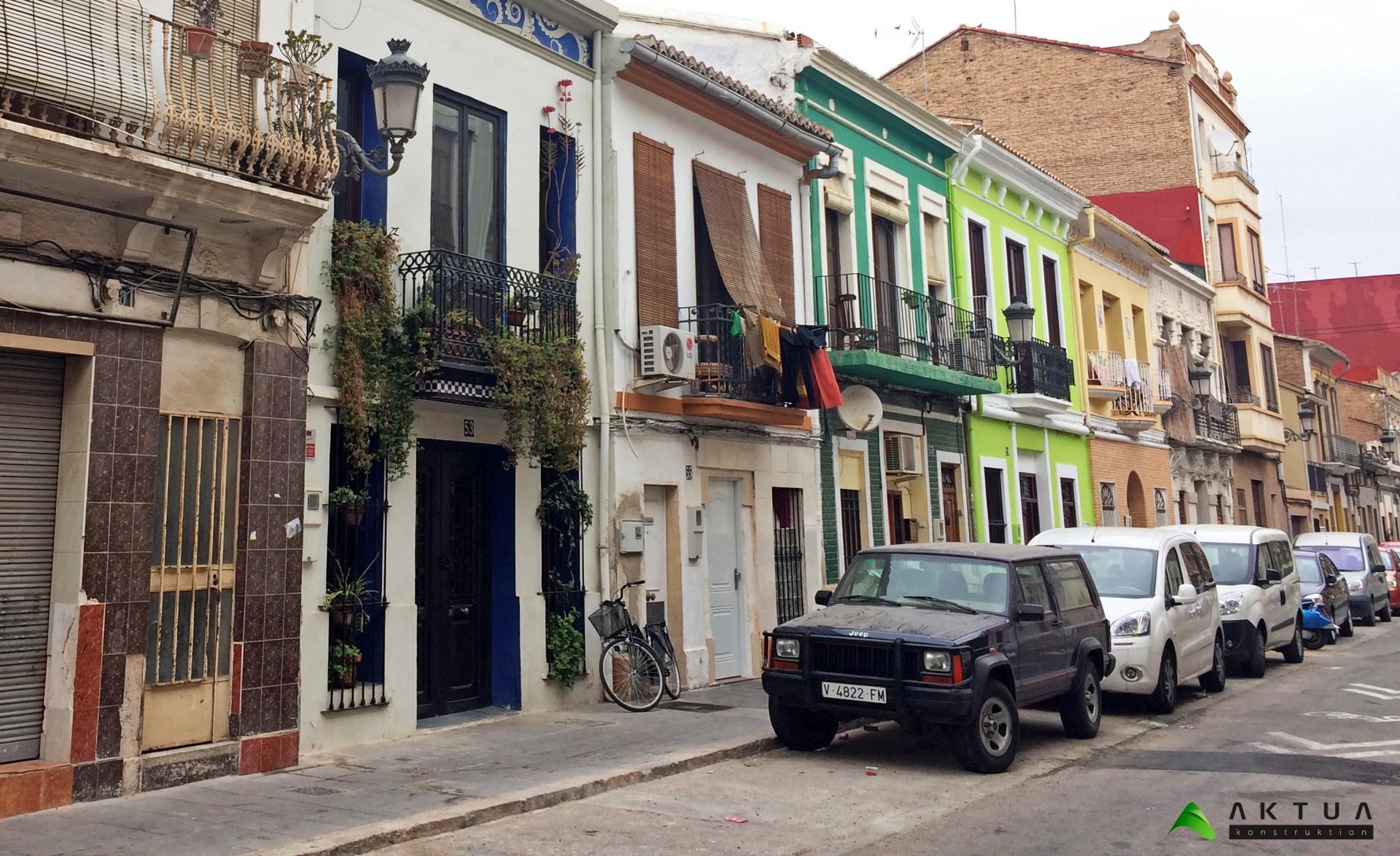 Rehabilitación viviendas Cabanyal: normas urbanísticas transitorias