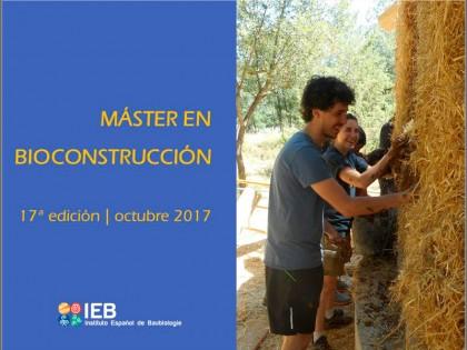 Master en Bioconstrucción, 17 edición