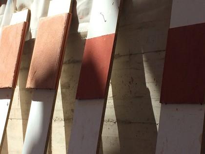 Morteros de barro. Visita Ecoclay.
