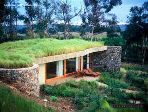 casa con inercia termica