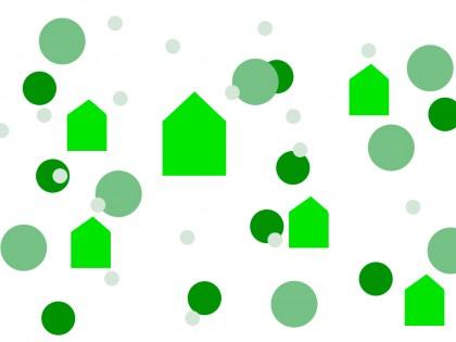 Construcción de casas: financiación verde y sostenible